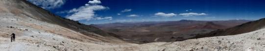 über dem Altiplano