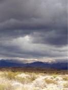 ...Blick auf die Cordillera...