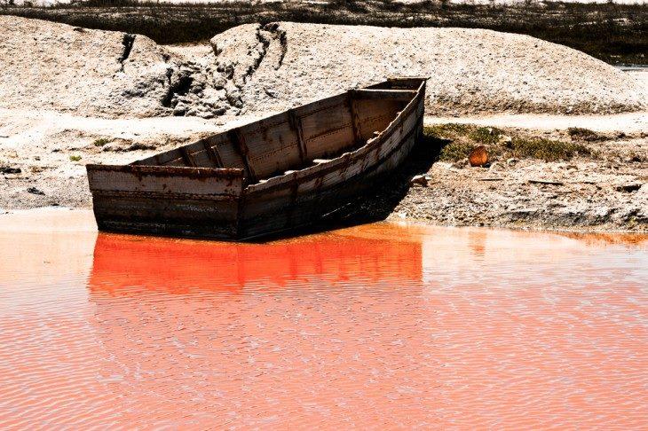lago rojo senegal