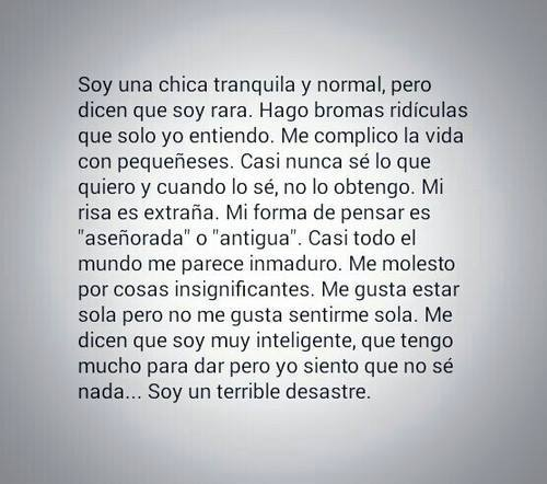 chica-tranquila-y-normal
