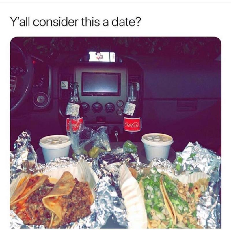 Y'all consider this a mexican date?