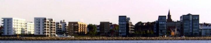 Skyline Holbæk Havnefront