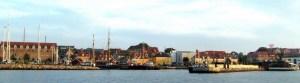 Holbæk havn fra fjordsiden