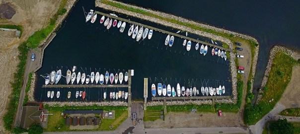 Holbæk Bådelaug - dronefoto
