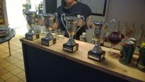 Pokalerne til årets vindere