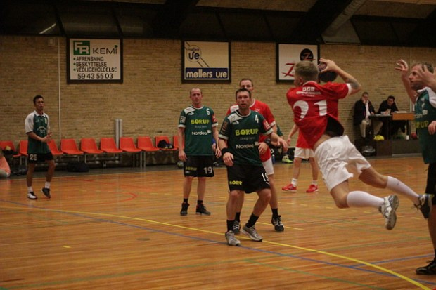 Holbæks herrer vandt over TMS Ringsted i søndagens kamp i Kvalifikationsrækken. Foto: Rolf Larsen.