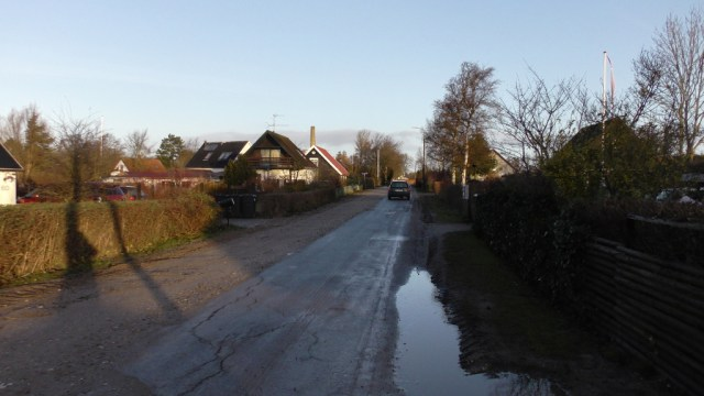 Så er der atter fri bane for bilister på Brøndevej. Foto: Jesper von Staffeldt.