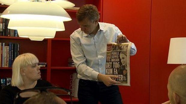 Ekstra Bladet - uden for citat er en kærlighedshistorie om en avis i en brydningstid. Foto: Mikala Krogh.