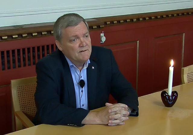 Carsten Fink slutter efter 28 år i byrådet for Socialdemokraterne. Foto: Jesper von Staffeldt.