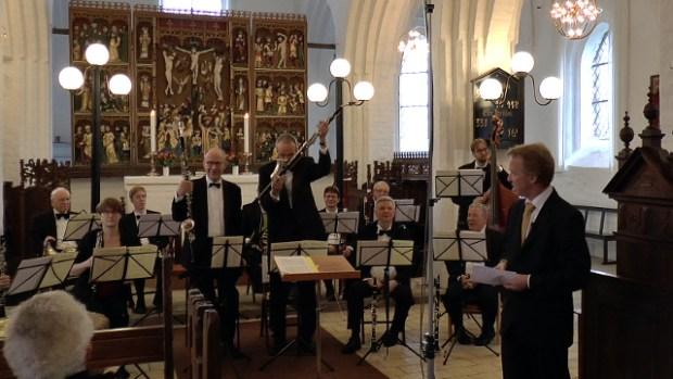 Holbaekonline.dk sender en koncertoptagelse med Amadeusensemblet på LokalKanalen. Foto: Jesper von Staffeldt.