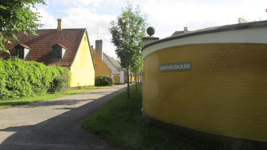 Kunsthøjskolen i Holbæk. Foto: Rolf Larsen