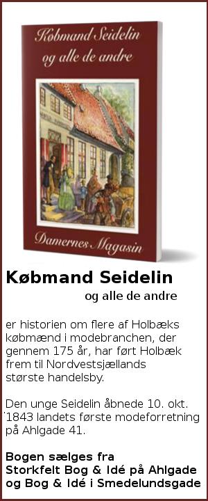 Købmand Seidelin og alle de andre - Ny bog af Søren Wolstrup.