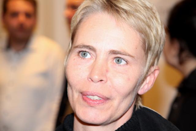 Nu kan Sine Agerholm (A) smile igen - hun er blevet 2. viceborgmester og formand for Arbejdsmarkedsudvalg. Foto: Rolf Larsen.