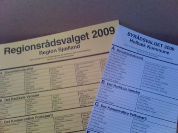 Der var både frem- og tilbagegang for de politiske partier var kommunalvalget i 2009.  Arkivfoto: Rolf Larsen.