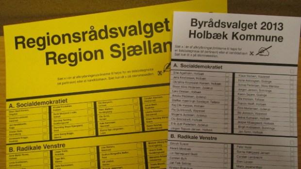 Den kommunale kampagne for at få flere unge til stemmeurnerne virkede. Foto: Rolf Larsen.