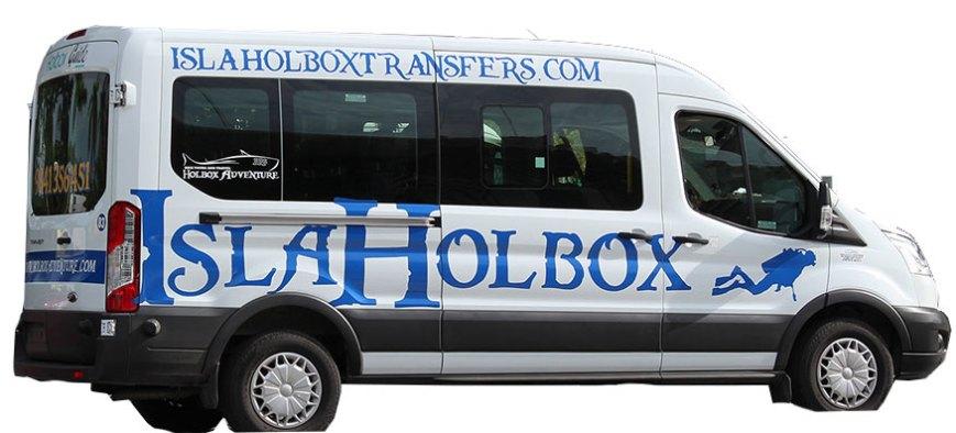 Van to Holbox Island 8