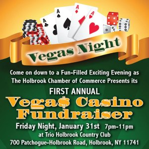 Join Us for Our First Annual Vegas Night!