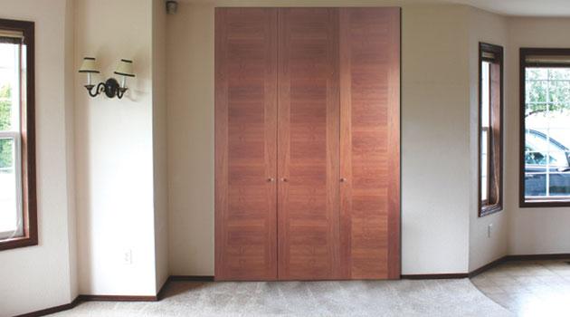 Puertas para cl sets a la medida hol chile for Modelos de puertas para closet