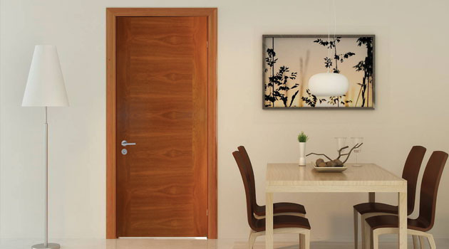 Puertas De Interior Enchapadas O Pintadas Hol Chile - Puertas-madera-interiores