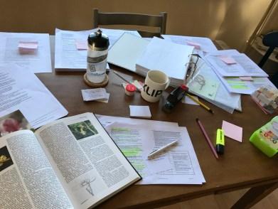 Tage vor der Prüfung