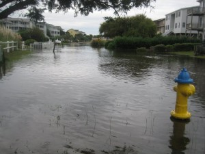 Holden Beach Road Flooding
