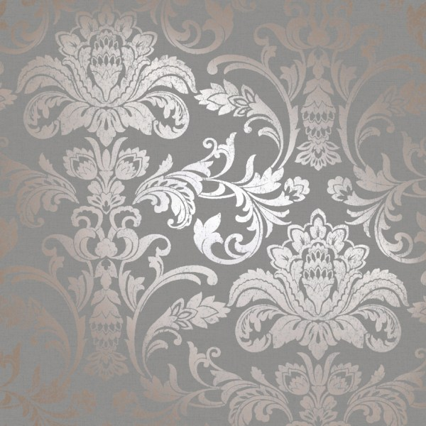 Glistening Damask Rosegold/Grey – Holden Decor