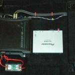 Subwoofer Amp and XM Radio module