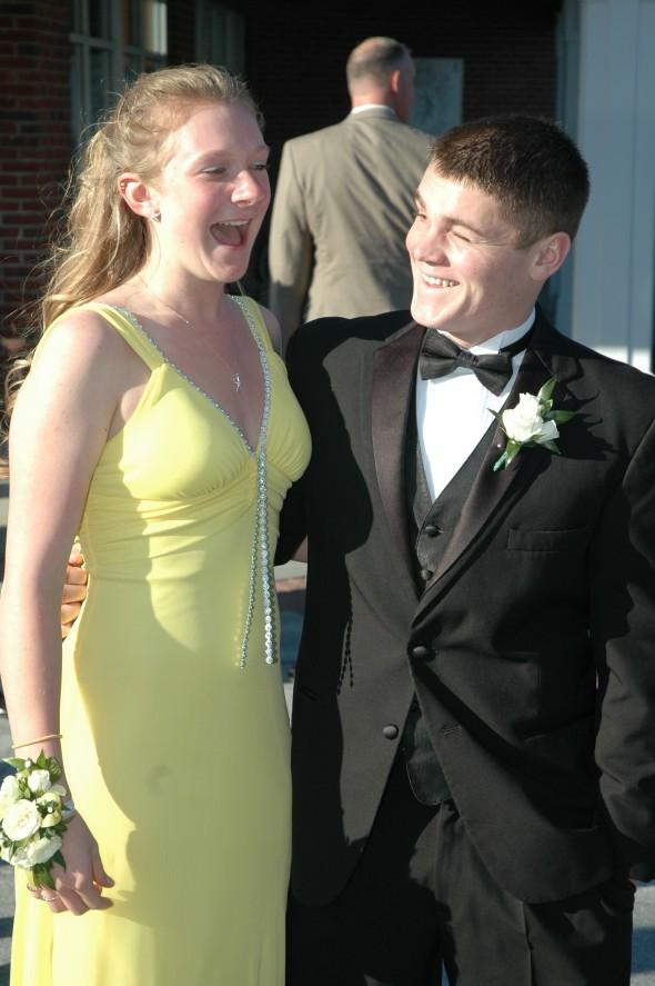 Kaitie & Trey at Prom 2013