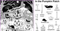 printable highlights hidden pictures halloween
