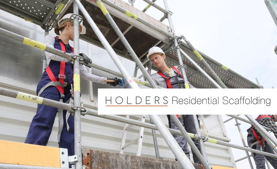 Residential scaffolding in Wolverhampton