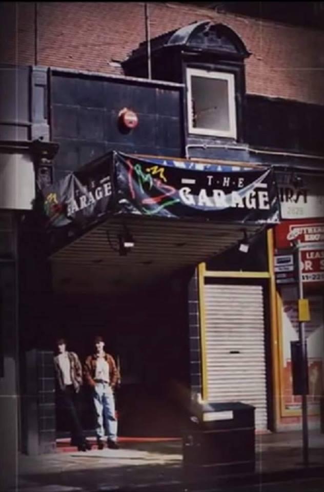 THE GARAGE 1990s
