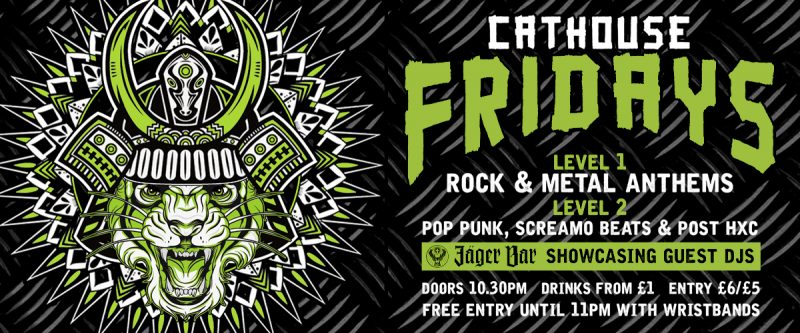 Cathouse Rock Club Nights - Friday