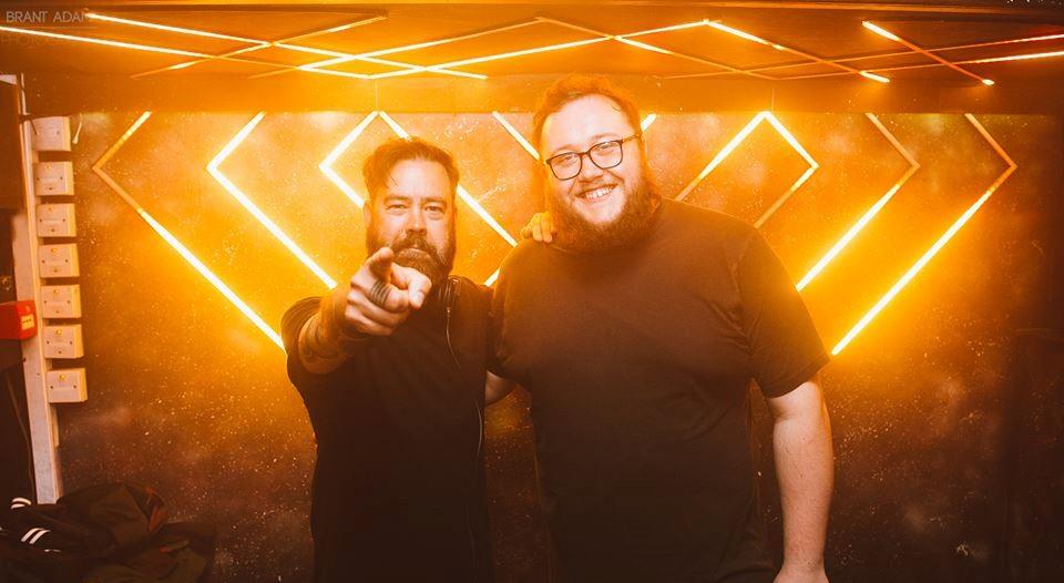 two DJ's at cathouse rock club glasgow