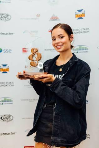 Nina Nesbitt at SSE Scottish Music Awards