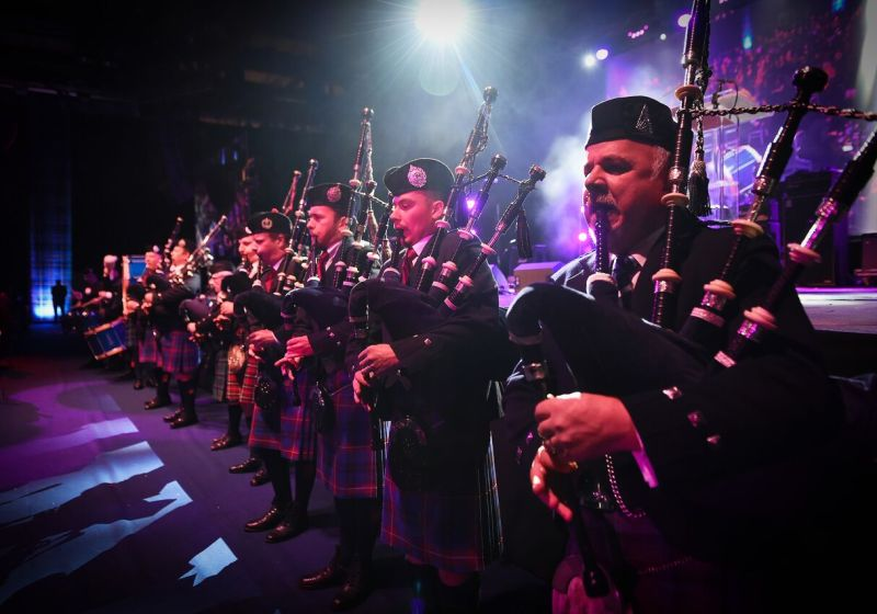 Nordoff Robbins Scotland - SSE Scottish Music Awards 2018 - World Pipe Band Championships