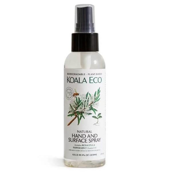 Koala Eco Natural Hand and Surface Spray Rosalina & Peppermint 125ml