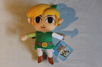 Collection Zelda en vente sur Holdies Link Cartoon Peluche