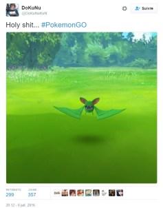 Nosferapti Chromatique Zubat Shiny Pokemon GO