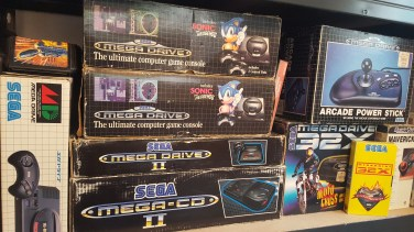Megadrive Mega CD collection