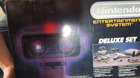 Pack Nes Deluxe ROB set complet