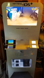 borne d'arcade nintendo DSi
