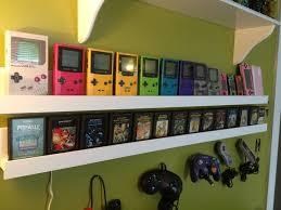 jeux retro, consoles retro, retrogaming, gaming room, game room, gameboy color jaune, gameboy color rouge, gameboy color bleue