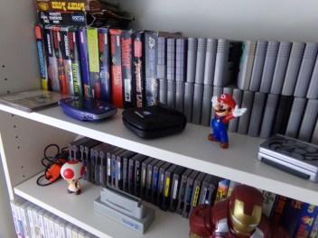 jeux super nintendo, mario, irone man, figurines mario, figurines iron man, toad, figurine toad, consoles rétro, jeux rétro, rétrogaming, rétro game, game room
