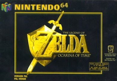 Nintendo 64 Zelda Ocarina of Time