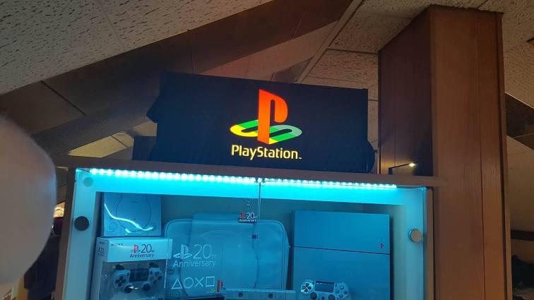Vitrine Playstation