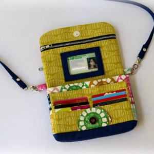 Clarendon Crossbody Wallet