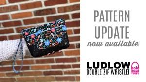 Ludlow Wristlet Pattern Update