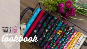 Art Gallery Fabrics features Winslet Wallet in Lookbook
