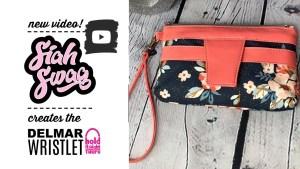 YouTuber SiahSwag sews the Delmar as a Crossbody Bag