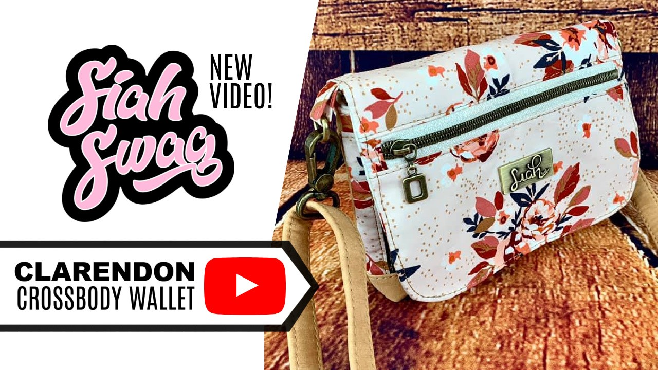 Watch SiahSwag Make the Clarendon Crossbody Wallet
